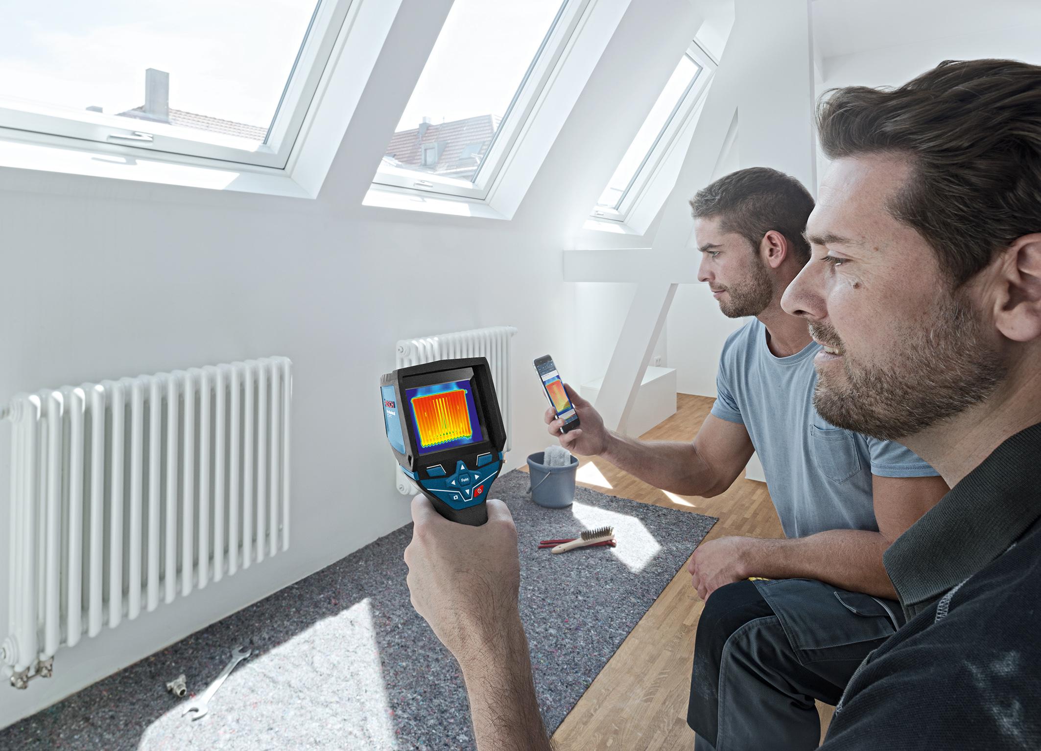 cameră termică digitală - GTC 400