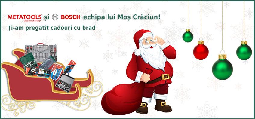 Bosch și Metatools, echipa lui Moș Crăciun!