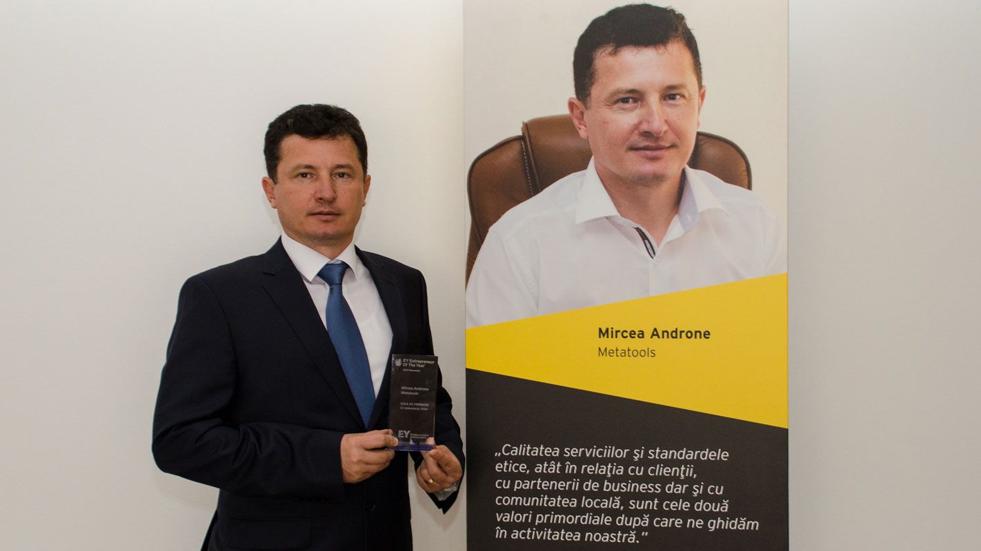 2014 – EY Antreprenorul Anului în România
